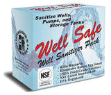 Well Safe Well Sanitizer Pack | Well Water Chlorine Sanitizer | Well Safe Chlorine Sanitizer