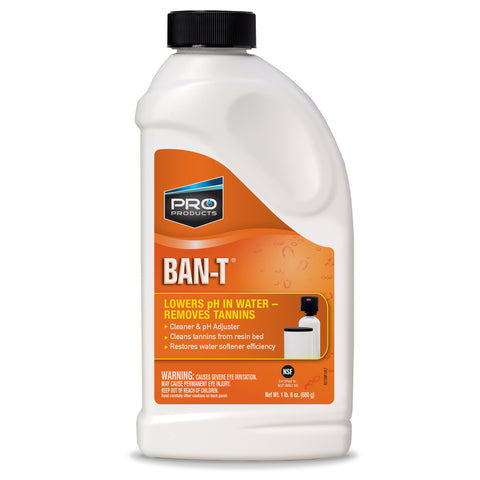 Ban-T Water Softener Cleaner | Citric Acid | Water Softener Citric Acid
