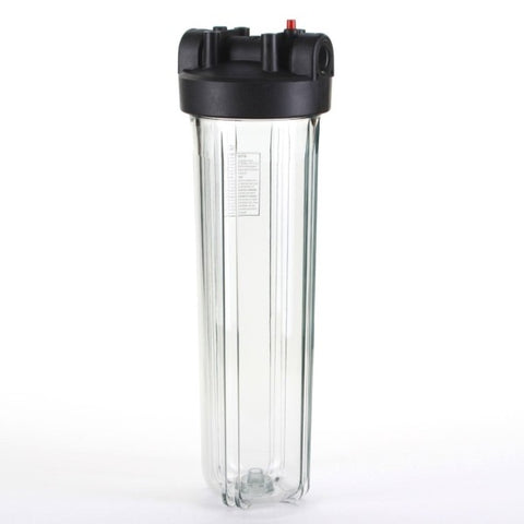 "Big Blue 20"" Clear Water Filter Housing 