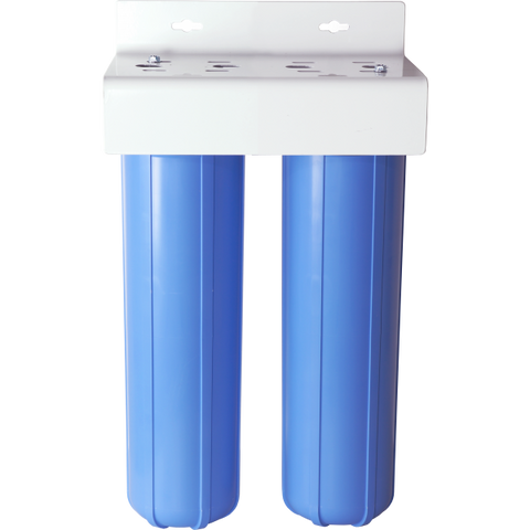 "Deionization Water System Dual 2.5"" x 20"" DI Water Filter Reverse Osmosis DI Water Systems"