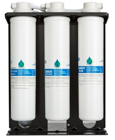 4-Stage Reverse Osmosis Water Cooler Filters