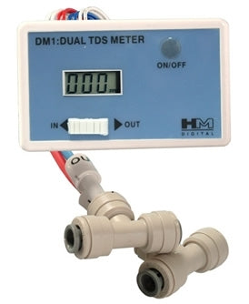 John Guest HM In-Line Dual TDS Meter - Reverse Osmosis Superstore
