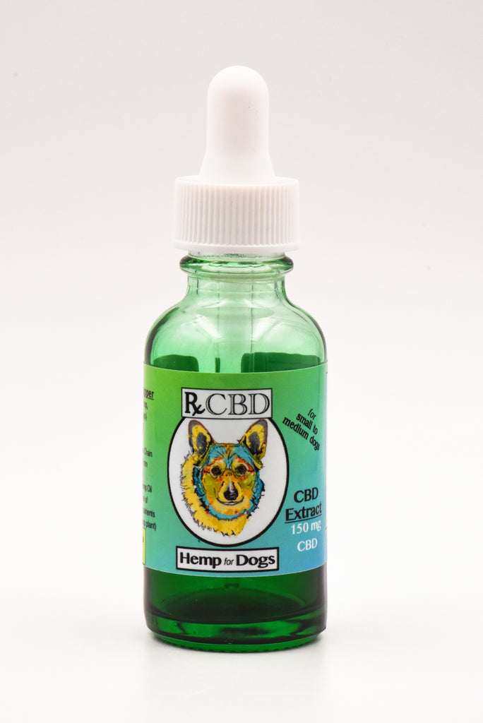 RxCBD Dog Extract Hemp CBD - For small to medium dogs