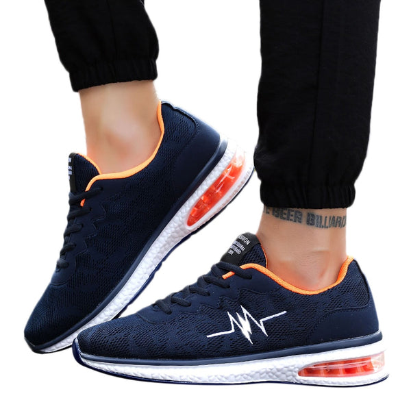 Mens Mesh Air Sneakers Athletic Flat Shoes Non-Slip Breathable Light