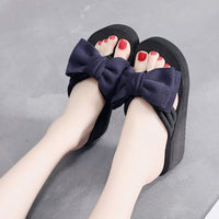 Women Wedge Slides Slippers Sandals Home Bathroom Flip Flops Shoes