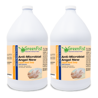 GreenFist Anti Microbial / Antibacterial Soap [ Liquid Refill ] Hand Soap, 2 Gallon - GreenFist