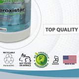 GREENFIST ALL PURPOSE HYDROGEN PEROXIDE CLEANER WITH CITRUS FRAGRANCE [ CONCENTRATED ] MAKES 128 GALLONS READY TO USE (4 GALLONS)