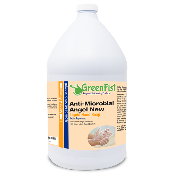 GreenFist Anti Microbial / Antibacterial Soap [ Liquid Refill ] Hand Soap,  1 Gallon