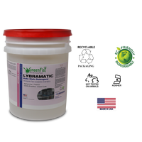 Lybramatic | Commercial Industrial Grade Dishwasher [Ready-to-Use] Detergent ,5 Gallon Pail - GreenFist