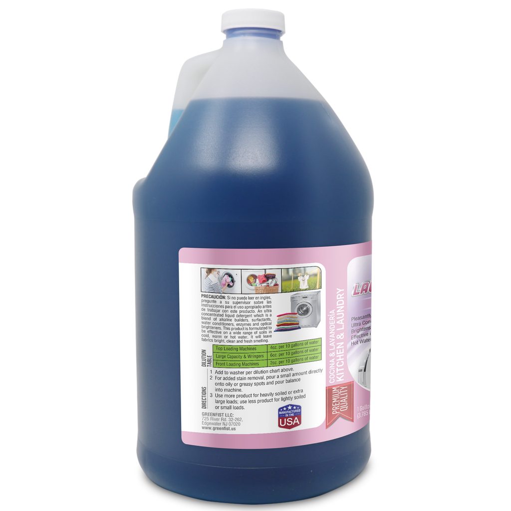 GreenFist Laundry Detergent [Super Concentrated] 1 Gallon