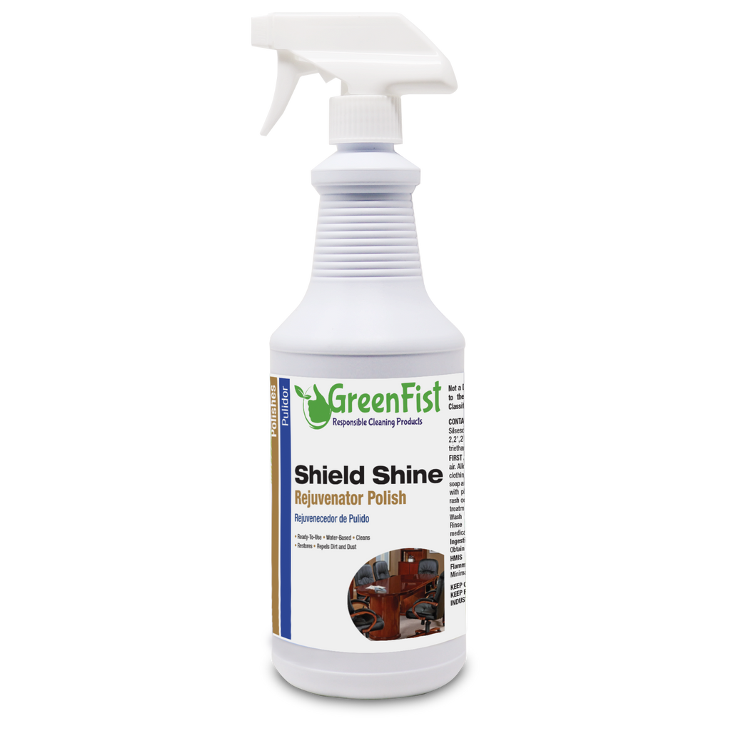 Shield Shine Rejuvenator Multipurpose Polisher, 32 Fluid Ounce Spray