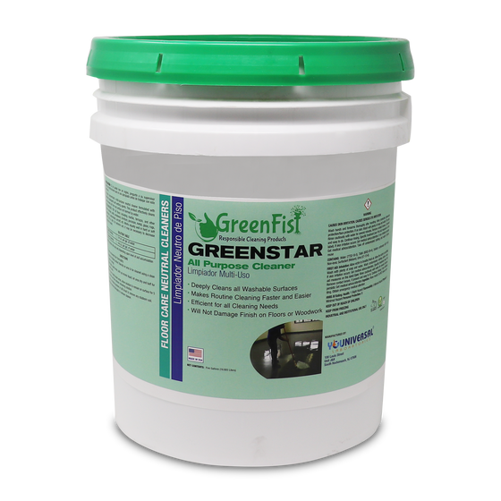 GreenStar All Purpose Cleaner Commercial Grade Heavy Duty All-purpose Cleaner (5 Gallon)