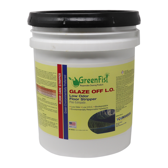 Glaze Off Floor Stripper Acrylic Based Surface Under Coating Product, 5 Gallon