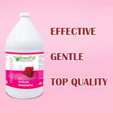 GreenFist Antibacterial Foaming Hand Soap Refills Jug Rose Scent Foam Refill Made in USA, 128 ounce (1 Gallon) - GreenFist
