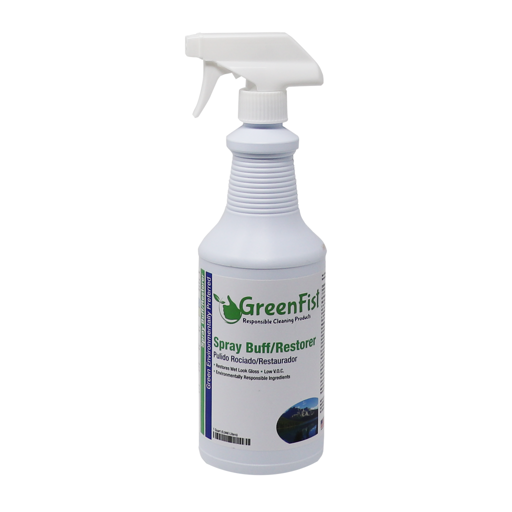GreenFist Spray Buff Restorer Floor Wax