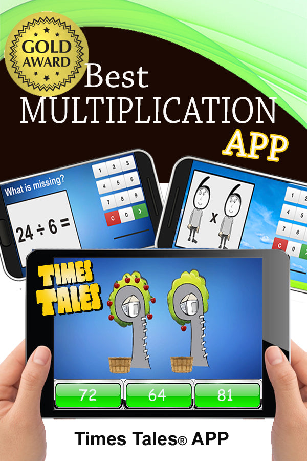 Best Multiplication App  - Apple & Google Play!