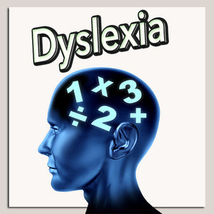 Dyslexia and Dyscalculia Math for learning disabilities.