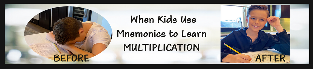 Memorize the Times Tables Fast- mnemonic memorization technique for teachers to use in the classroom