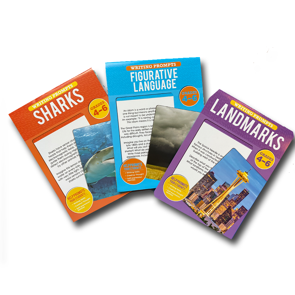 Bundle Pack - Writing Prompts (Grades 4-6 )  #C5