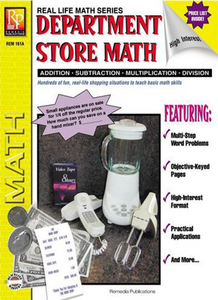 Department Store Math - (Grade 3-5)