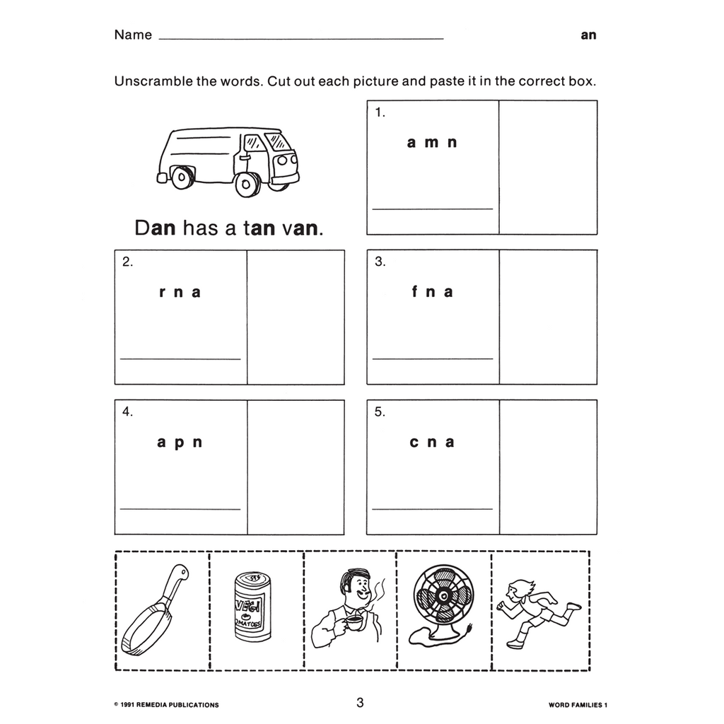 Word Families How To Teach Word Families The Home Of Times Tales