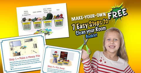 FREE Mini-Bedroom Cleaning Booklet -  (Digital Download)