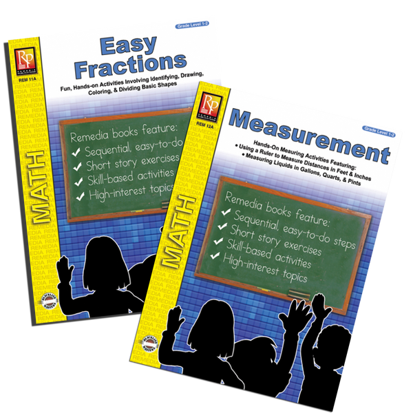 Measurements & Fractions (2 Pack)- Grades 1-2