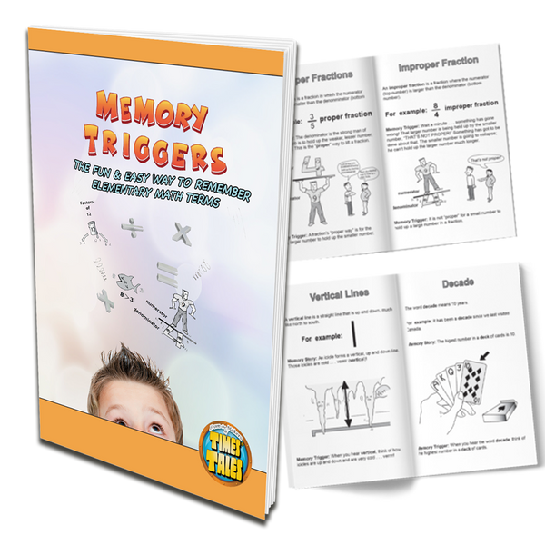 Memory Triggers - Memorize 16 Elementary Math Terms the Easy Way!