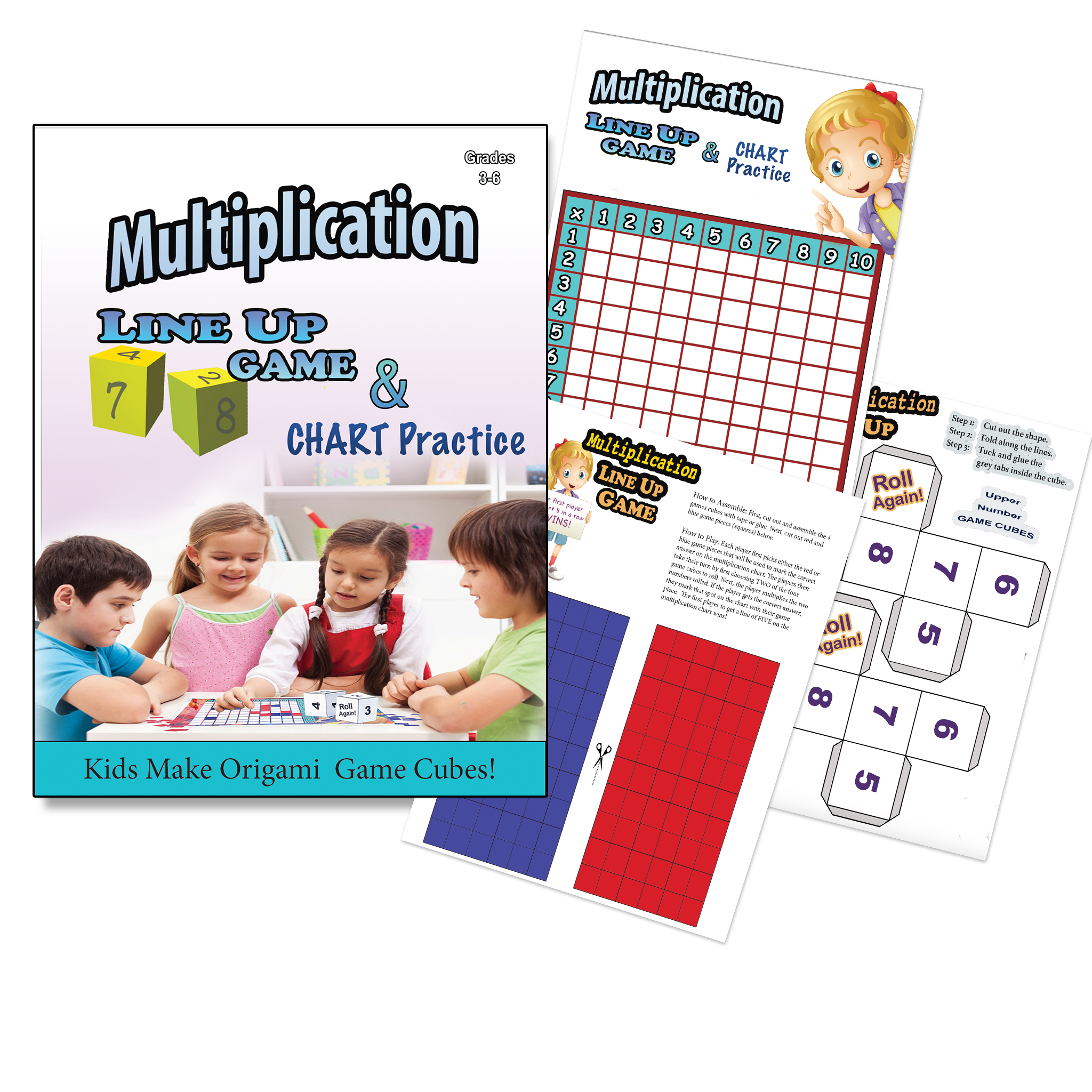 Multiplication Chart - Printable Game & Practice