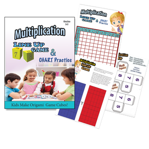 Blank Multiplication Chart - Printable Game & Practice