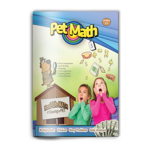 *NEW Pet Math Workbook - Real-Life Math of Owning a Pet (Grades 3-5)