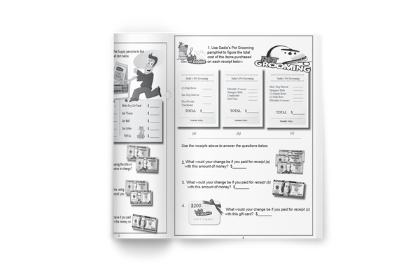 NEW! Pet Math Workbook - Real-Life Math of Owning a Pet (Grades 3-5)