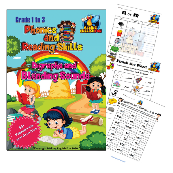 Deluxe Printable Workbook Bundle! (Grades 1-3)