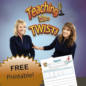Podcast #1  FREE Printable - Copywork