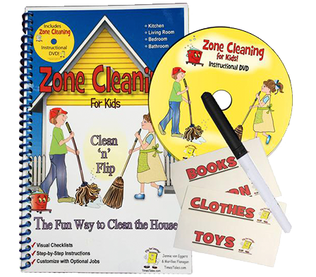 Kids Chore Chart - Step-by-Step fun way to do chores!