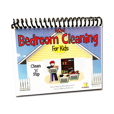 Mini Bedroom Clean 'n' Flip- Chore Chart - Kids will want to CLEAN their room!
