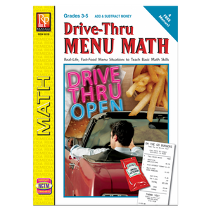 Drive-Thru Menu Math - Add & Subtract Money (Gr. 3-5)