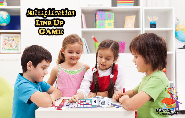 Multiplication Chart Pack- Multiplication Game, flashcards, laminated chart & practice times tables drills