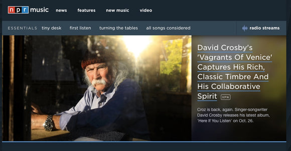 News - David Crosby Official Online Store