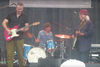 Croz joins Jason Isbell on stage at the Newport Folk Festival