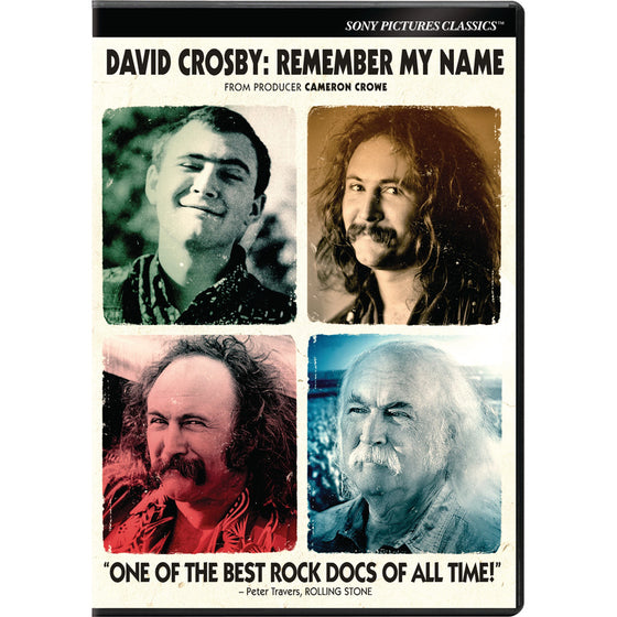 David Crosby: Remember My Name [DVD]