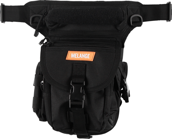 MELANGE - Black Leg Bag