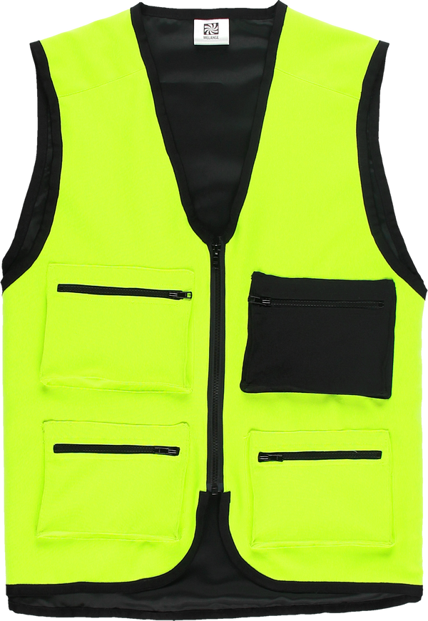 MELANGE - Electric Green Vest