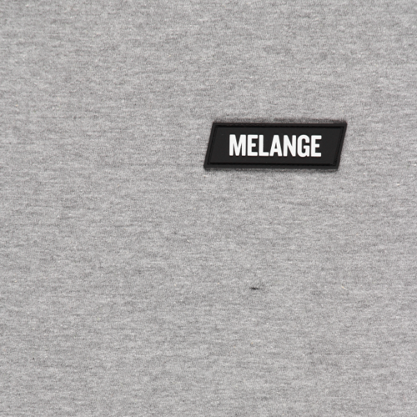 MELANGE - Ash Grey T-shirt Black Box Logo