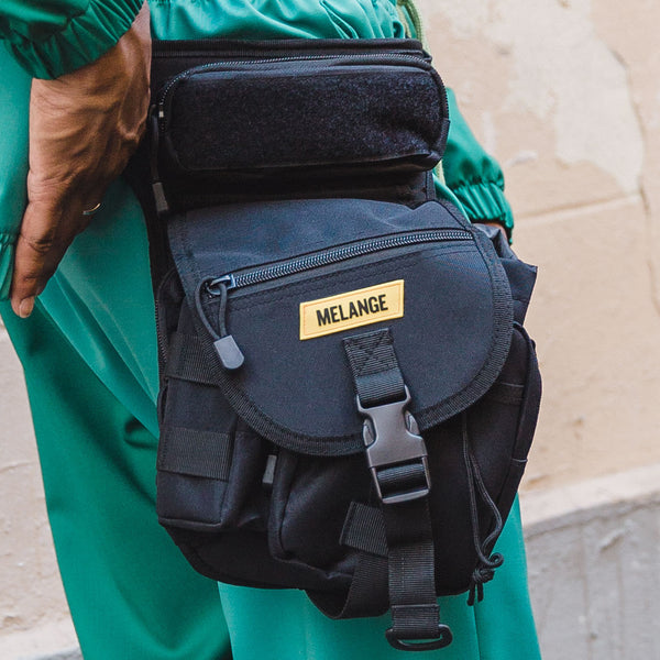 MELANGE tactical leg bag