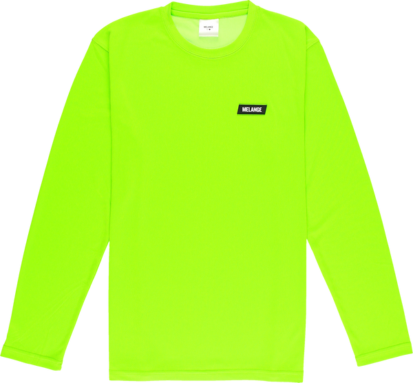 MELANGE - Electric Green Long Sleeve T-shirt