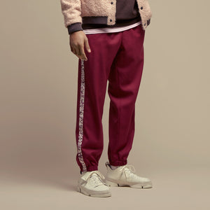 Bordeaux Fine Wool Joggers Pants