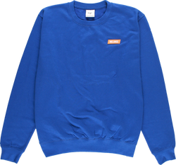 MELANGE - Royal Blue Crewneck