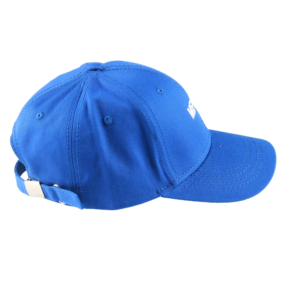 MELANGE - Royal Blue Baseball Cap White Logo