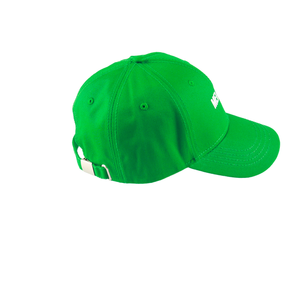 MELANGE - Irish Green Baseball Cap White Logo